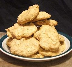 Coconut Macaroon Cookie Recipe from Food.com:   Macaroon cookies are small and dainty. But not these they are over 3 inches in diameter and loaded with of coconut. Try this treat! golden crispy on the outside, white and chewy on the inside. Store the macaroons in an airtight container.  Do not refrigerate or freeze macaroons.