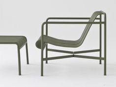 The Hay Palissade Lounge Chair Low is part of a complete collection of outdoor furniture designed by Ronan & Erwan Bouroullec for Hay.