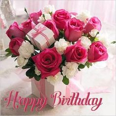 Watch and share Happy Name Day GIFs on Gfycat Happy Birthday Woman, Happy Birthday Rose, Birthday Wishes Flowers, Birthday Roses, Birthday Pins, Happy Birthday Images, Happy Name Day, Happy Mothers Day, Holiday Wallpaper