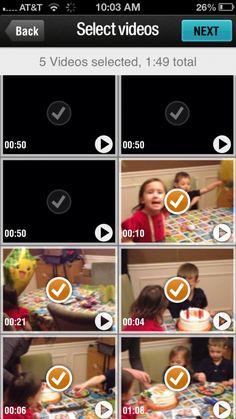 Magisto video editing app