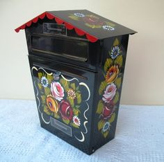 Post box ideal if you have a residential mooring or great on the front of your house