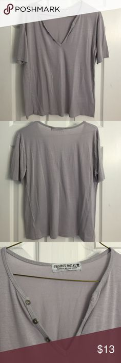 Urban Outfitter's T-shirt It said XS but it can also fit a S-M because it's an oversize fit t-shirt. Used but still in good condition. Urban Outfitters Tops Tees - Short Sleeve