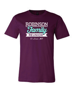 family reunion t-shirts | Custom Family Reunion T-Shirts