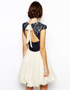 Image 2 of Chi Chi London Lace Prom Dress with Sweetheart Neck