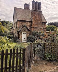 Cottage Chimney in Hertfordshire UK | Content in a Cottage