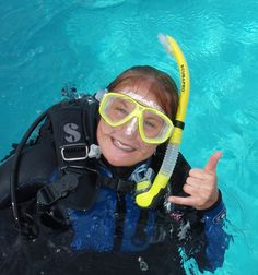 Kona Scuba Diver at Jack's Diving Locker