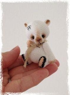 Crochet lucky cats.