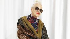 This Austrian Model Became Insta-Famous at 95 Years Old Find Instagram, Year Old, Blazer, Model, Jackets, Fashion, Down Jackets, Moda, One Year Old