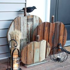 Pumpkin Pallets from Country Living Magazine