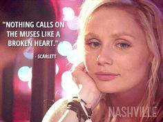 Broken heart muses - Nashville ABC TV show