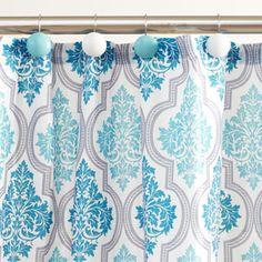 boscovs   Arizona Fabric Shower Curtain and Hooks Set