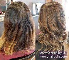 You look fabulous again. Ombre Highlights, Hair Color Balayage, Best Hair Salon, Perms, Cool Hair Color, You Are Beautiful, Brown And Grey, Pink Purple, Cool Hairstyles