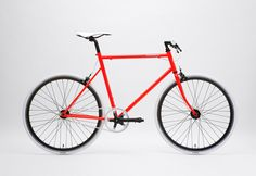 Tokyo Bike Limited Edition, fluorescent red. My next one.