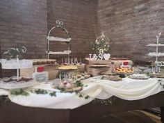 Candy bar. Nature wedding theme