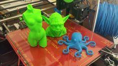More printing with the Prusa i3 3D Printer