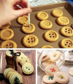 Button Cookies Are Super Cute and Easy To Make | The WHOot