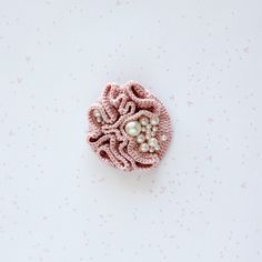 This item is reserved.  If you are not kathecuervo, please dont purchase it.  __________________________________________________    I have made this brooch