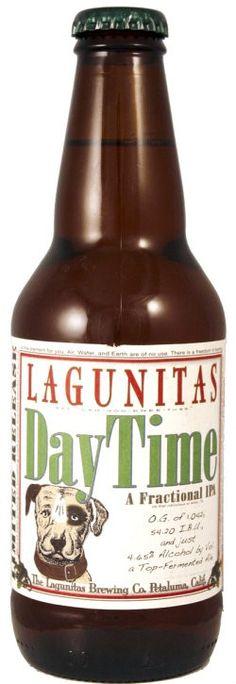 Cerveja Lagunitas DayTime, estilo Session IPA, produzida por Lagunitas Brewing Company, Estados Unidos. 4.65% ABV de álcool.
