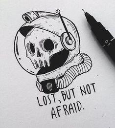 Draws Interesting Drawings, Interesting Tattoos, Tattoo Sketches, Tattoo Drawings, Art Sketches, Body Art Tattoos, Cool Tattoos, Skull Illustration, Ink Illustrations