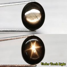 9.91CT.6 RAYS 100% STAR! UNHEATED OVAL CAB BLACK NATURAL SAPPHIRE THAILAND NR! #GEMNATURAL