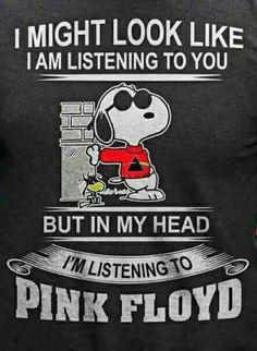 Yeah! Snoopy, Pink Floyd