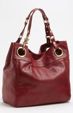 Steven by Steve Madden 'Candy Coated' Snake Embossed Tote by nordstrom