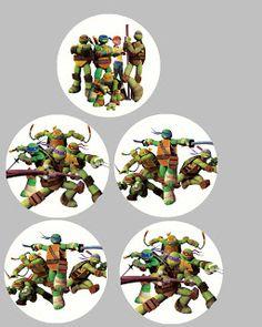 FREE Teenage Mutant Ninja Turtle Birthday Party Printables   MySunWillShine.com