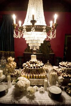 Glamorous Cupcake Dessert table!!