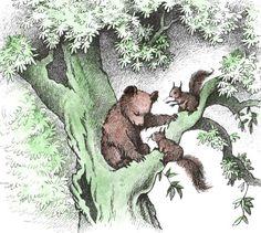 "Illustration from ""Little Bear"", by Maurice Sendak"