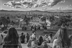View from Nacional d'Art de Catalunya by tayfun_demir