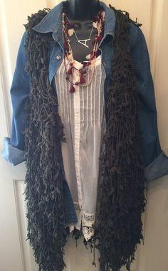 Shaggy Vest $60  shopthebronzemonkey.com