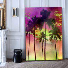 Pop colour canvas