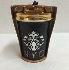 Starbucks NYC Ornament 2015 Dot Collection Ceramic Christmas New York City in Collectibles, Holiday & Seasonal, Christmas: Current (1991-Now), Ornaments, Other Current Tree Ornaments | eBay