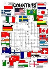Countries - Africa and Asia worksheet - Free ESL printable worksheets made by teachers