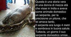 storia donna serpente