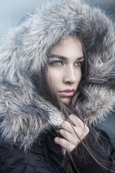 Winter breeze by Nina Masic on 500px,Model Merima Ramadanovic