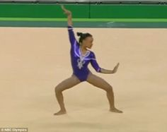 Watch this gymnast SLAY her Beyonce-inspired floor routine Gymnastics Girls, Gymnastics Leotards, Gymnastics Floor Routine Music, Beyonce Songs, Gymnastics Training, Floor Workouts, Young Female, Dance Moves, Music Songs