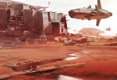 Colonie 2, sparth . on ArtStation at https://www.artstation.com/artwork/bJy6a?utm_campaign=notify&utm_medium=email&utm_source=notifications_mailer