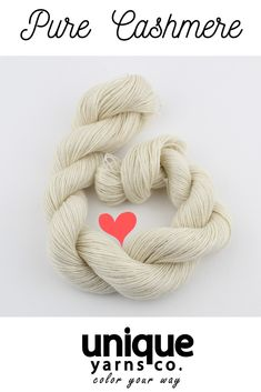 This finest, cashmere is incredibly soft. Unbleached and undyed, this cashmere retains the beautiful natural creamy white of the cashmere goats. Cashmere Yarn, Green Wool, Yarn Colors, Crochet Yarn, Merino Wool Blanket, Halloween Crafts, Handmade Items, Pure Products, Creamy White
