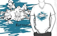 Submission 1 of my Inky WoW series.  Rut'theran Village, the connection between the great tree and the great sea