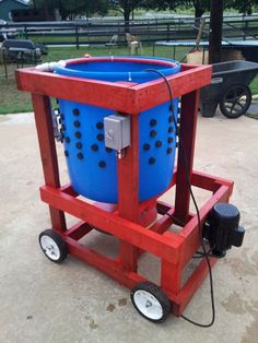 "how to build this chicken plucking machine with pictures and instructions! The wizbang chicken plucker plans call for a 3/4 HP Farm Duty motor, & 2 ""pillow block""bearings."