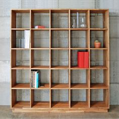 5x5 Bookcase, Ultimate organization
