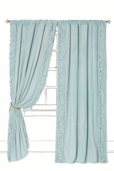 Just the right amount of Shabby Chic detail, in just the right shade of Beach House Blue!  - Anthropologie.com
