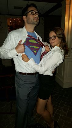 Lois Lane and Superman