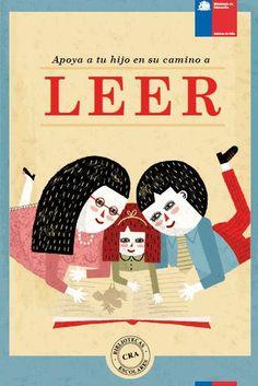 """""""Apoya a tus hijos en el camino de leer"""". Edita CRA Bibliotecas Escolares (podemos descargarlo en pdf. pinchando sobre la imagen)"""