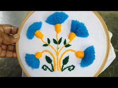 Basic Embroidery Stitches # Part-3   Embroidery stitch for beginners https://youtu.be/mY83wGSJcT8 http://handembstitch.blogspot.com/p/embroidery-store.html  These stitches for beginners. I hope this tutorial will help to new beginners to learn embroidery