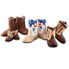 Just found this Novelty Slippers - Cowboy Boot Slippers -- Orvis on Orvis.com!