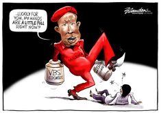 EFF Commander-In-Chief Julius Malema leads a vicious Twitter attack on journalist Karima Brown… - Business Day, Friday 8 March 2019 | Editorial Cartoons by Brandan Reynolds
