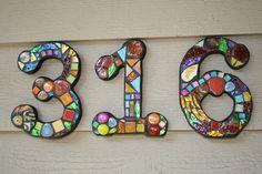 Mozaik házszámok | Életszépítők