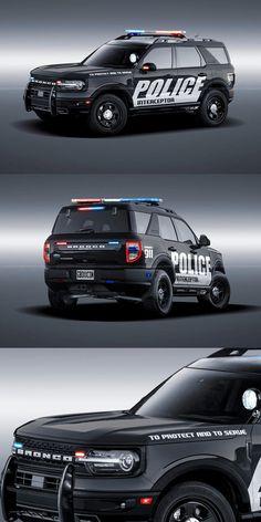 New Bronco, Ford Bronco, Police Lights, Law Enforcement Agencies, Chrome Wheels, Design Language, Ford Explorer, Police Cars